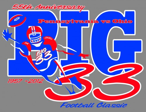 Big 33 Logo Design 2012