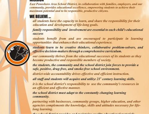 2013-2014 EPASD Plan Poster