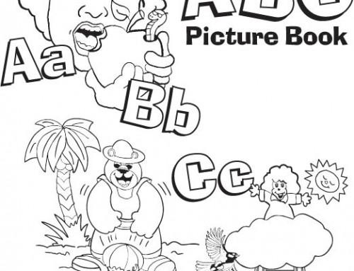 ABC Picture Book (coloring book for Preschool – 2nd grade)